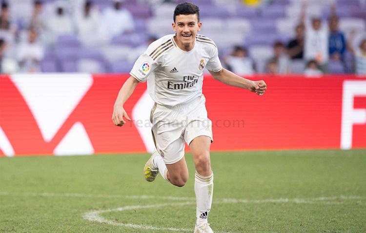 El hijo de José Antonio Reyes le da el título de LaLiga Promises al Real Madrid