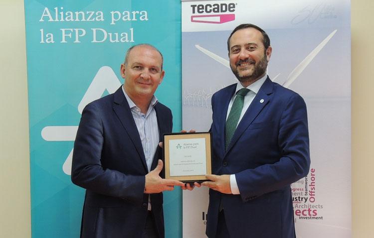 Tecade se une a la «Alianza para la FP dual»