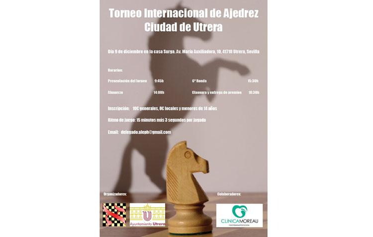 Cita con el ajedrez en el torneo internacional «Ciudad de Utrera»
