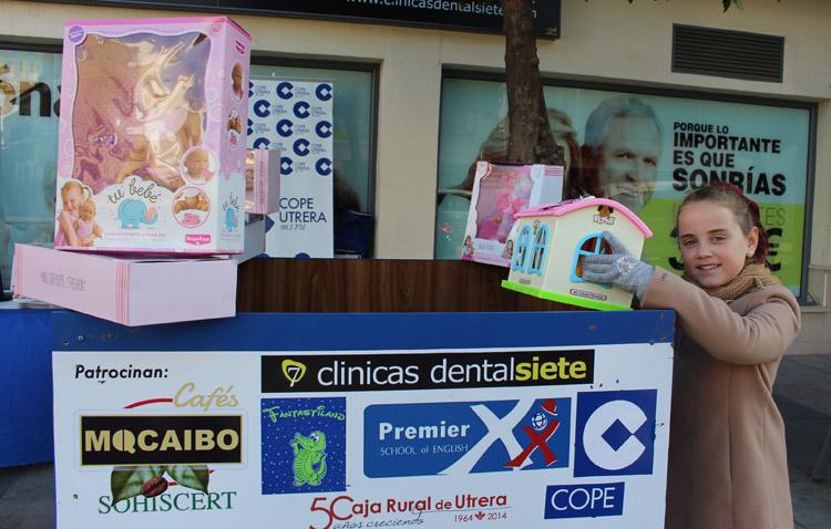 COPE Utrera impulsa un año más la campaña solidaria «Un juguete para todos»