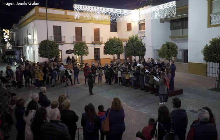 Las «Tardes musicales al compás de la Navidad» proponen otra semana repleta de actuaciones callejeras en Utrera