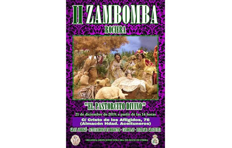 La zambomba rociera cambia su lugar de celebración ante la previsión de lluvias