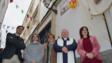 Utrera rinde homenaje a la fundadora de la Sagrada Familia (IMÁGENES)