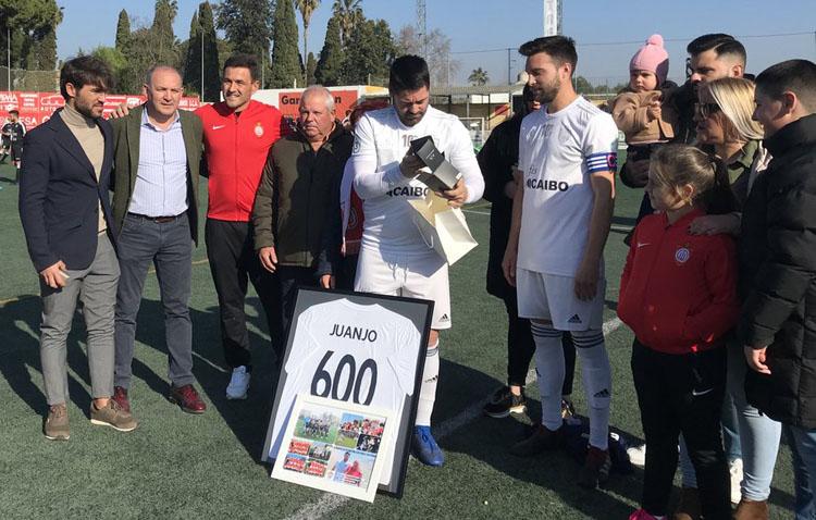 Juanjo Jiménez, el jugador con más partidos de la historia de Club Deportivo Utrera