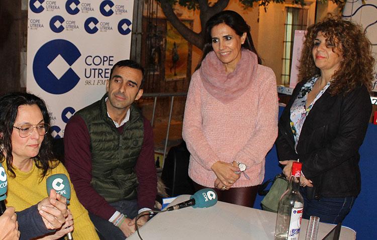 Tres asociaciones de comerciantes de Utrera deciden unir sus fuerzas en una apuesta conjunta por este sector económico