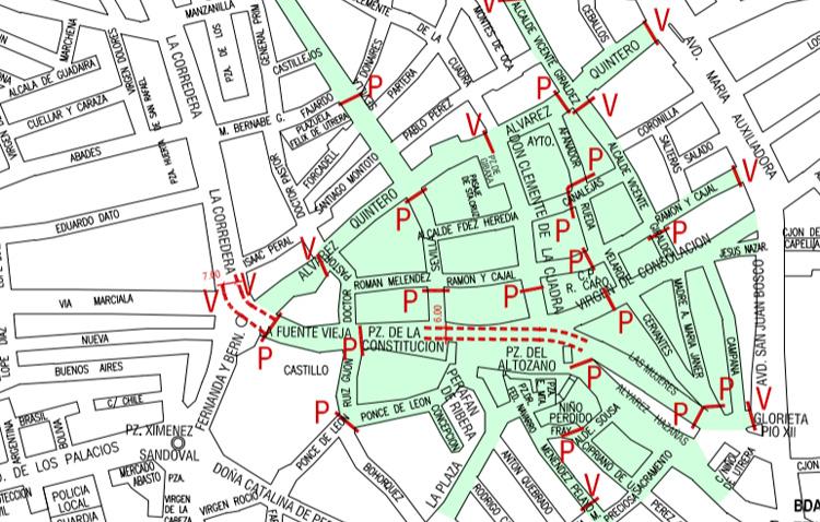 Importantes restricciones de tráfico en Utrera con motivo del Heraldo Real y de la cabalgata de los Reyes Magos