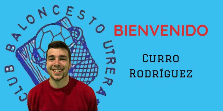 El Club Baloncesto Utrera refuerza la línea exterior con el fichaje de Curro Rodríguez