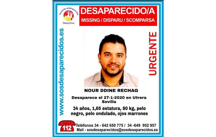 Buscan a un hombre desaparecido en Utrera desde el pasado lunes