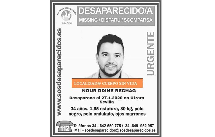 Encuentran sin vida al hombre desaparecido en Utrera desde el pasado lunes
