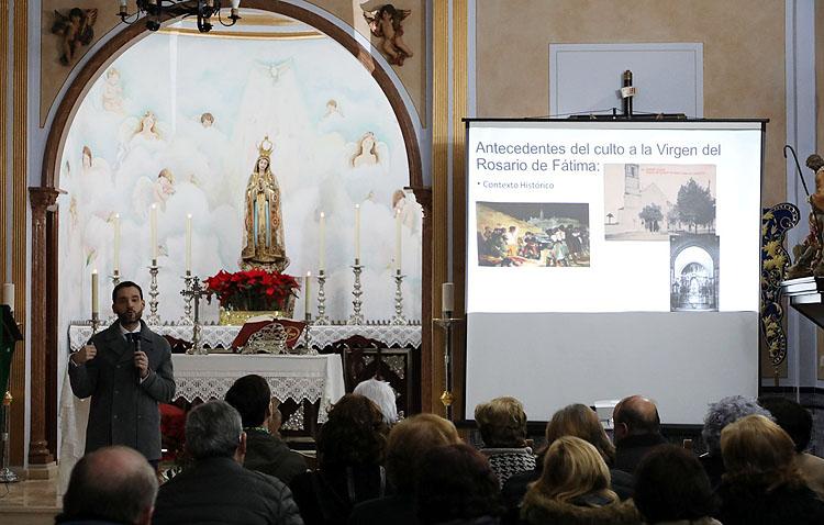 Una profundización en torno a la utrerana imagen de la Virgen de Fátima, penúltimo acto de las bodas de plata de la hermandad