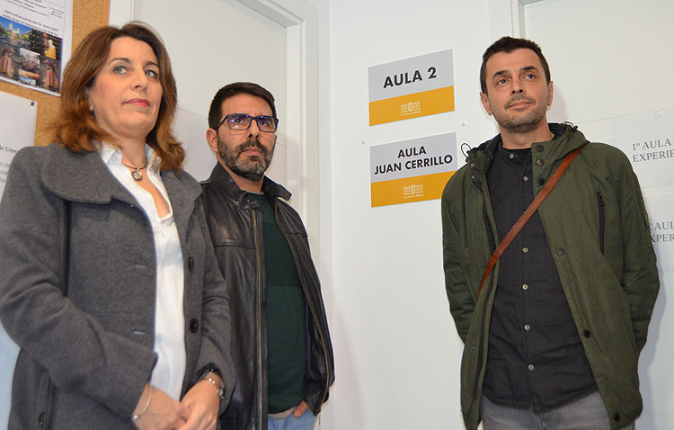 El Aula de la Experiencia inaugura un aula en recuerdo de Juan Cerrillo