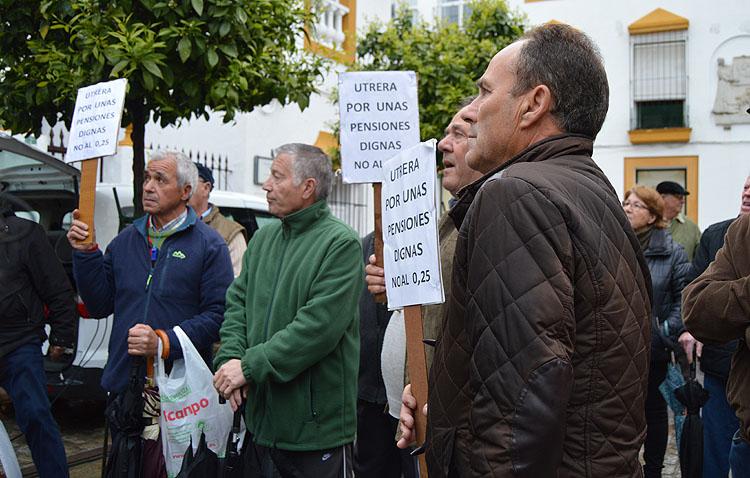 Un acto en Utrera respaldará la huelga general por las pensiones programada en el País Vasco