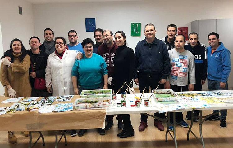 Talleres de arte y creatividad en Utrera para personas con discapacidad