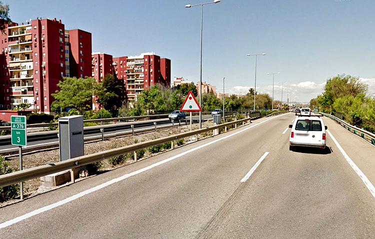 Un radar de la autovía Sevilla-Utrera, el cuarto que más multas pone de la provincia
