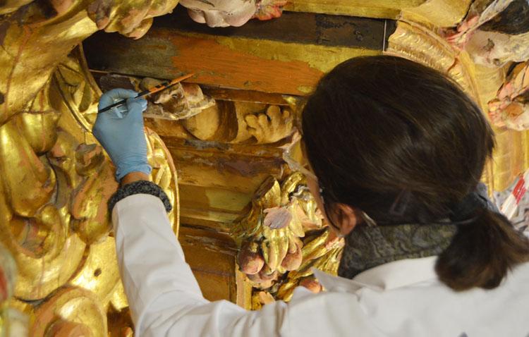 La magia del retablo de Consolación volverá a lucir a finales de junio, tal y como estaba previsto