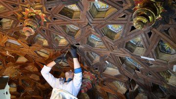 La restauración del retablo de Consolación deja al descubierto varios curiosos hallazgos (GALERÍA FOTOGRÁFICA Y VÍDEO)