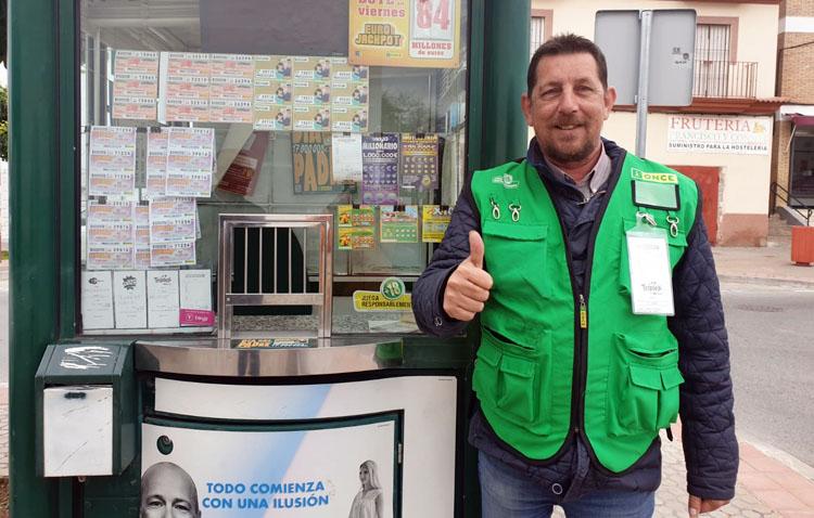Utrera sigue en racha con un nuevo premio de la ONCE