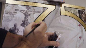 La obra del utrerano Antonio Rodríguez Ledesma, protagonista en el 75º aniversario de la sevillana hermandad del Cerro