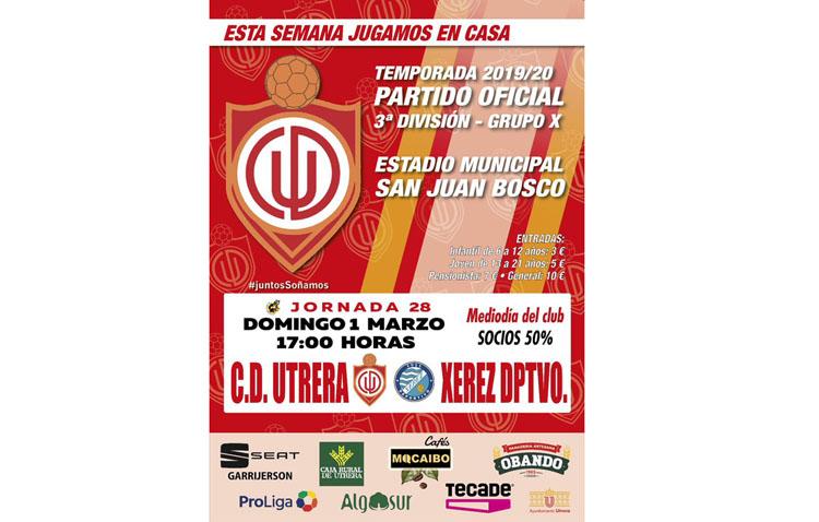 C.D. UTRERA – XEREZ DEPORTIVO: Aquí no se para