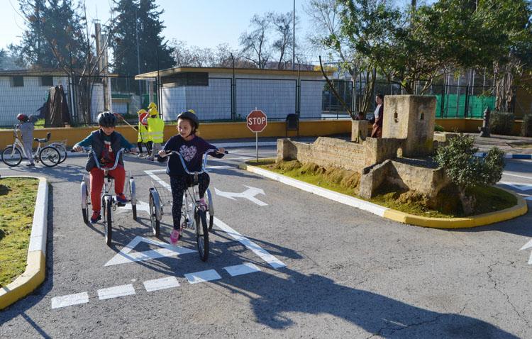 El centro de educación vial «Concejal Andrés Campos» reabre para los escolares de Utrera