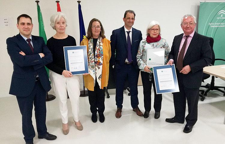 El hospital de alta resolución de Utrera consigue la certificación de la Agencia de Calidad Sanitaria de Andalucía