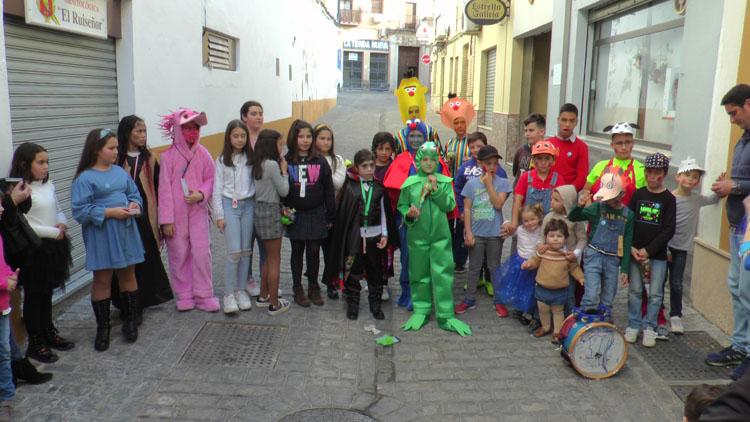 Las chirigotas infantiles de Los Molares y Morón de la Frontera, unidas por el carnaval