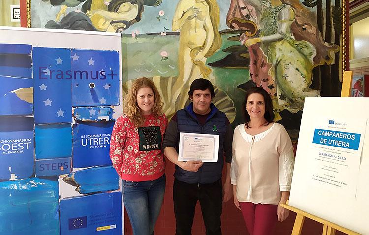 El instituto José María Infantes divulga la tradición campanera utrerana mediante el programa Erasmus