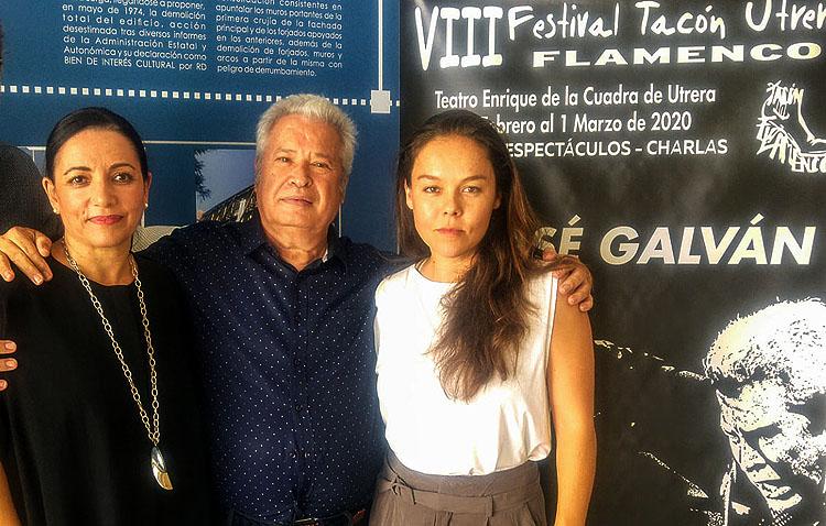 El «Tacón Flamenco» llega a Utrera con seis espectáculos para homenajear al bailaor José Galván