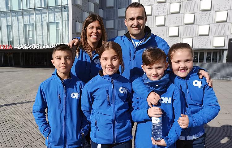 El club de karate «ON Sport&Wellness» de Utrera se hace con seis podios en la liga nacional