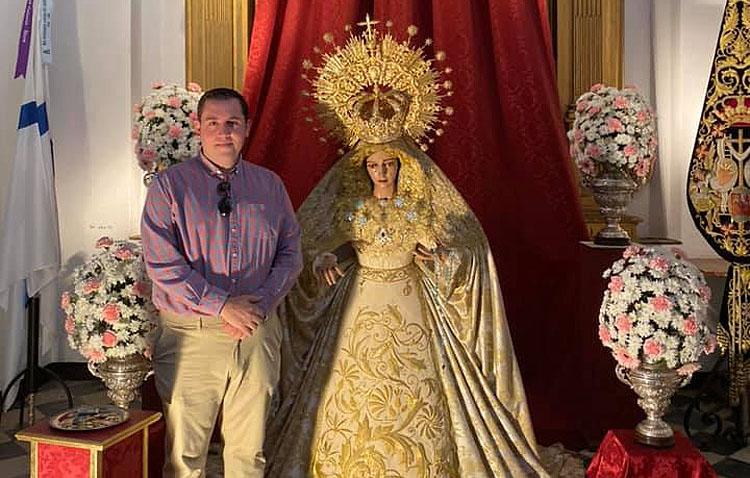 El palaciego Luis Miguel Murube pregonará el domingo a la hermandad de la Quinta Angustia