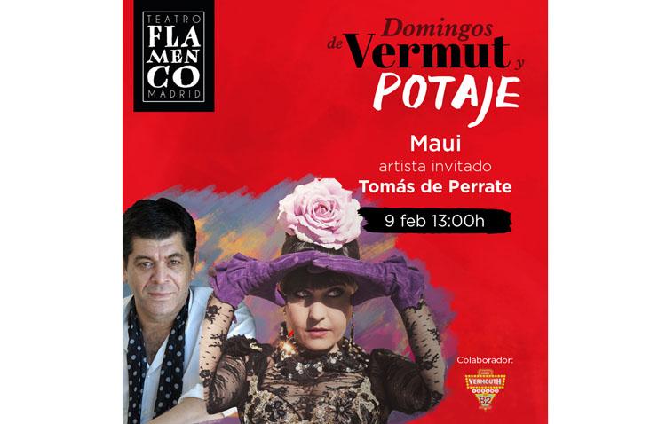Maui se lleva a Tomás de Perrate hasta Madrid para «cocinar» su «Domingo de vermut y potaje»