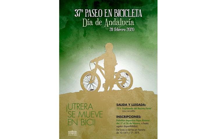 Utrera celebra el Día de Andalucía con su tradicional paseo en bicicleta