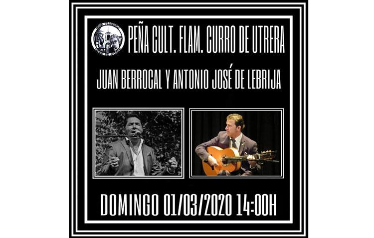 Una cita flamenca para culminar la semana en la peña «Curro de Utrera»