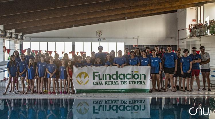 El Club Natación Utrera sale airoso en sus últimas competiciones