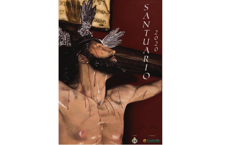 Una pintura del Cristo del Perdón protagoniza el cartel «Santuario»
