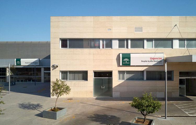 Los trabajadores del hospital de Utrera denuncian su «exposición» frente al coronavirus