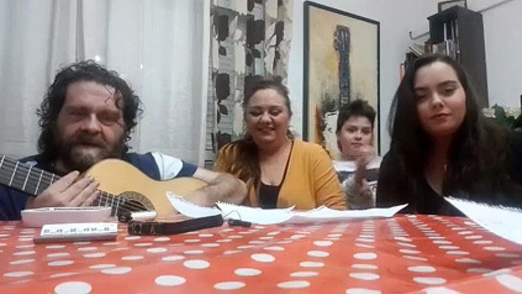 Mari Peña y Antonio Moya ponen el toque flamenco al «#yomequedoencasafestival» (VÍDEO)