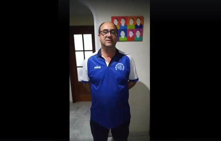 Una campaña del Club Baloncesto Utrera anima a quedarse en casa para luchar contra el coronavirus (VÍDEO)
