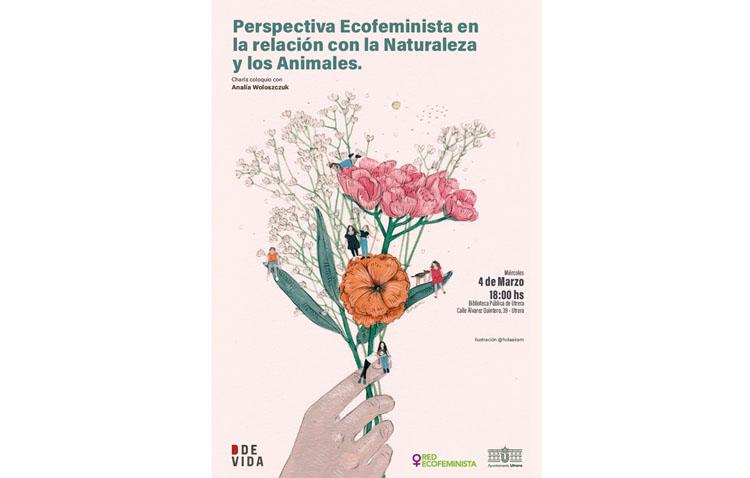 Una charla en Utrera a favor del ecofeminismo por el día de la mujer