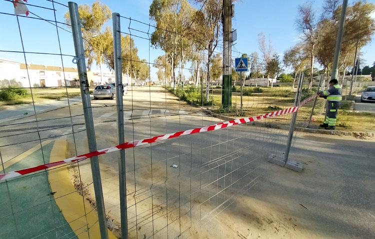 El recinto ferial de Utrera comienza su reurbanización