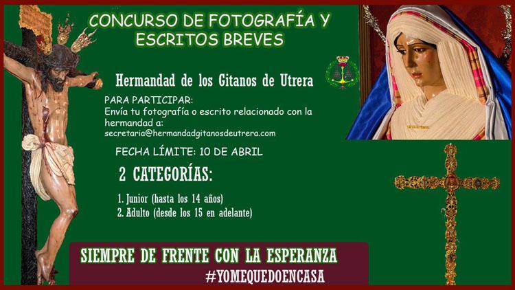 La hermandad de Los Gitanos organiza un concurso de fotografías y relatos breves para jóvenes y adultos