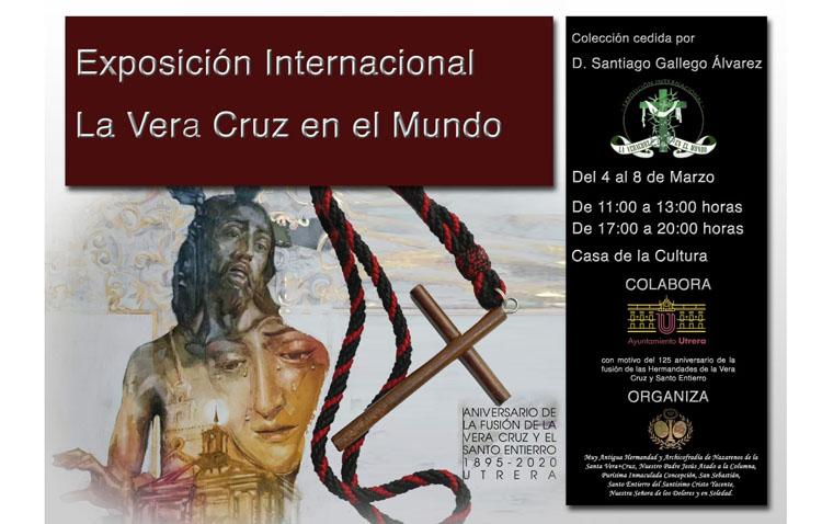 Una exposición mostrará en Utrera centenares insignias de las hermandades de la Vera-Cruz por todo el mundo