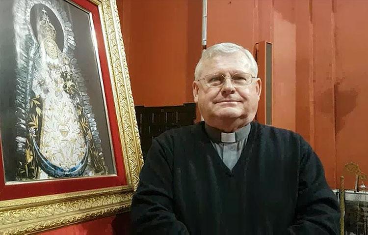 El sacerdote Joaquín Reina lanza un mensaje esperanzador ante la actual crisis sanitaria (VÍDEO)