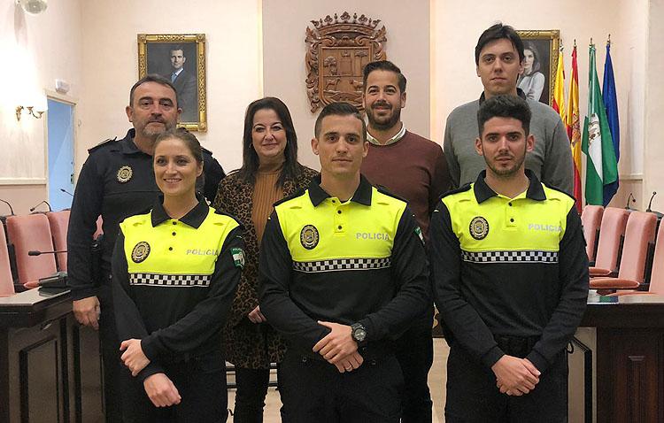 La Policía Local de Utrera incrementa su plantilla con cinco incorporaciones en un año
