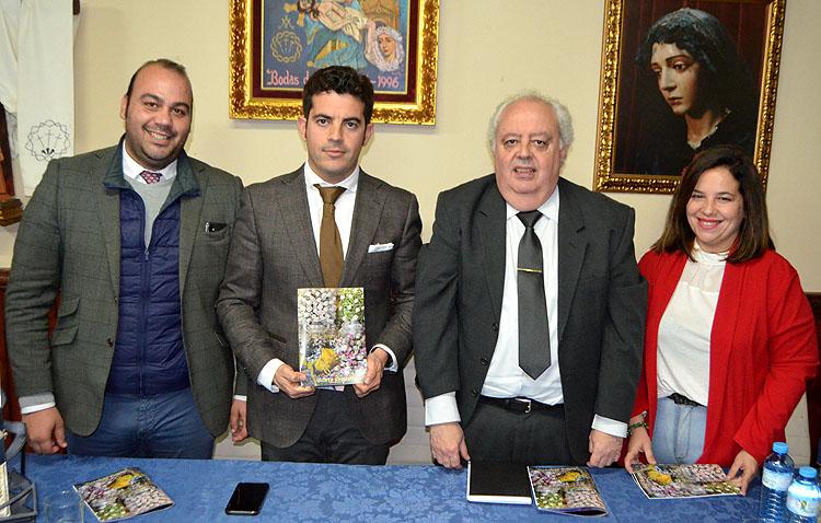Un homenaje de la Quinta Angustia a Emilio Alfaya, «el cofrade que cambió la Semana Santa de Utrera»