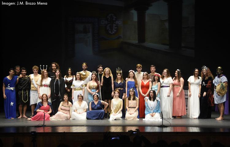 El grupo «Thalía Helena» del instituto Ruiz Gijón difunde el teatro griego con un vídeo realizado durante el confinamiento