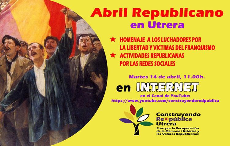 «Construyendo ReDpública» conmemora la Segunda Republica con una concentración virtual en el cementerio de Utrera