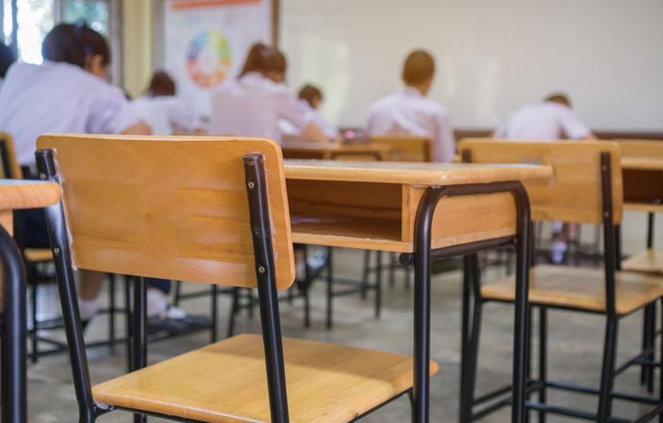 Las aulas confinadas se rebajan a media docena en los colegios e institutos de Utrera