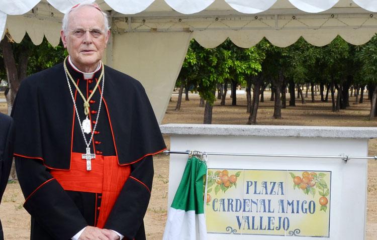 El cardenal Carlos Amigo preside este viernes la eucaristía conmemorativa del cincuentenario de la Quinta Angustia