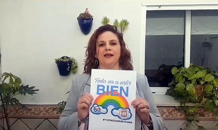 El homenaje de los profesores del colegio «Álvarez Quintero» a sus alumnos (VÍDEO)
